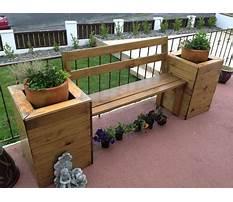 Best Cedar planter benches