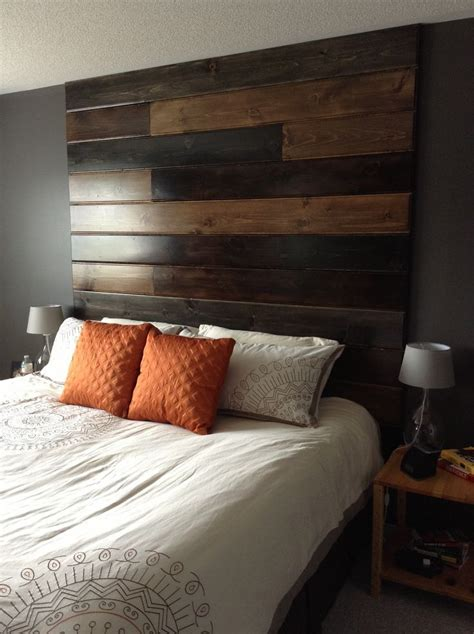Ceiling Wood Diy Headboard