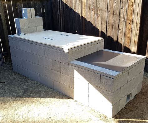 Cement Block Smoker Plans
