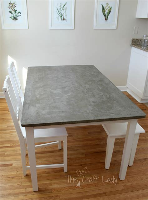 Cement Table Tops Diy School