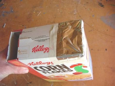 Cereal Box Eclipse Viewer DIY