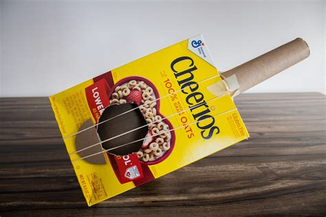 Cereal Box Guitar Diy Preschool