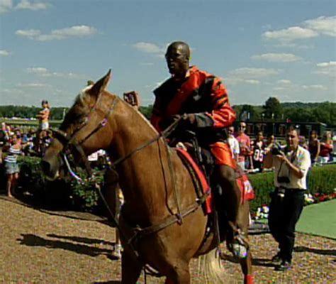 Chad Johnson Races Horse And Epo Horse Racing