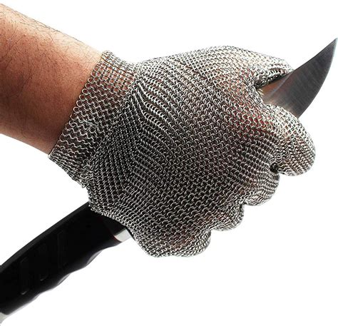 Chainmail-Woodworking-Gloves