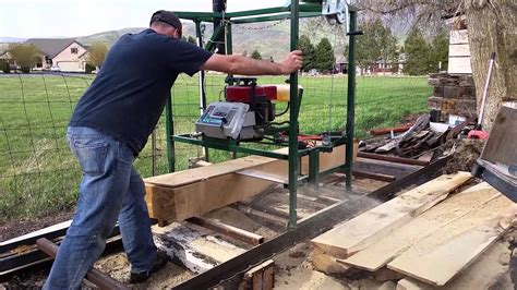 Chainsaw Lumber Mill Plans