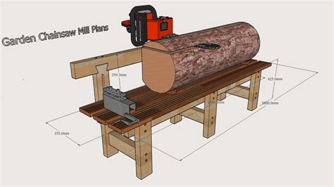 Chainsaw Mill Jig Plans