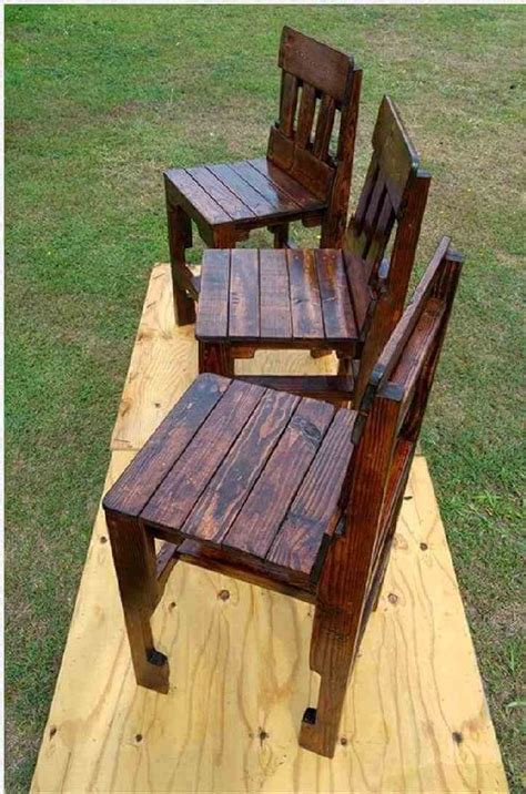 Chairs Made From Pallets Plans