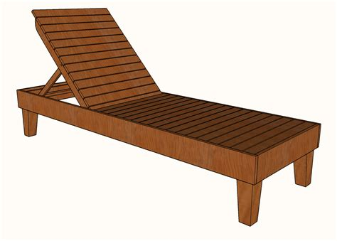 Chaise Lounge Chair Plans Free