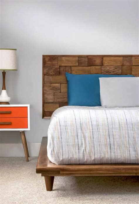 Chaise Wood Diy Headboard