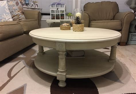 Chalk Paint Coffee Table Diy