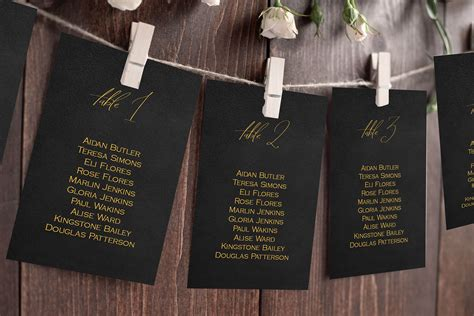 Chalkboard-Table-Plan-Template