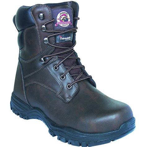 Challenger Men's Work Boots, Brown