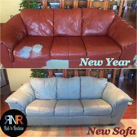 Change Color Of Leather Sofa Diy