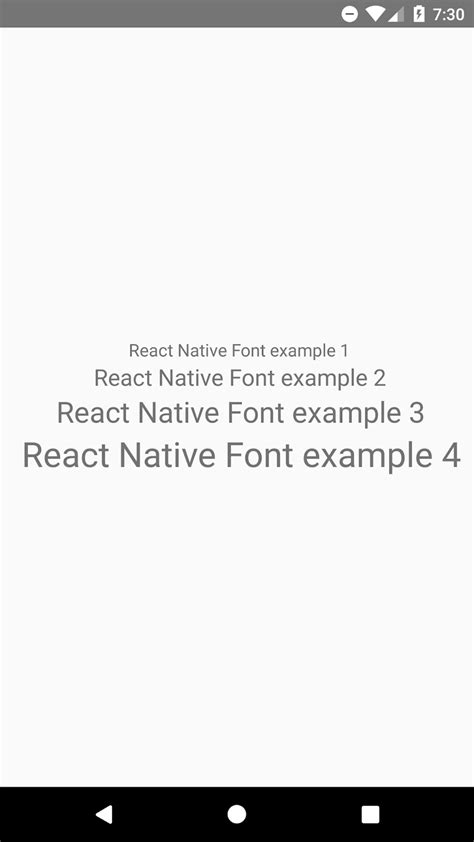 Change Text Color React Native