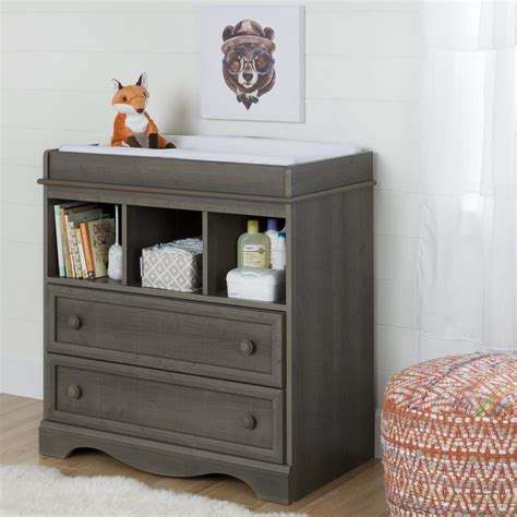 Changing Table With Drawers Plans
