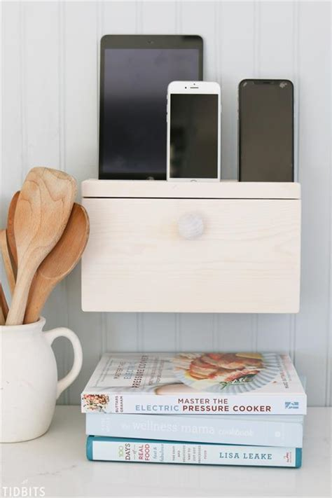 Charging Station Table Diy Hardware