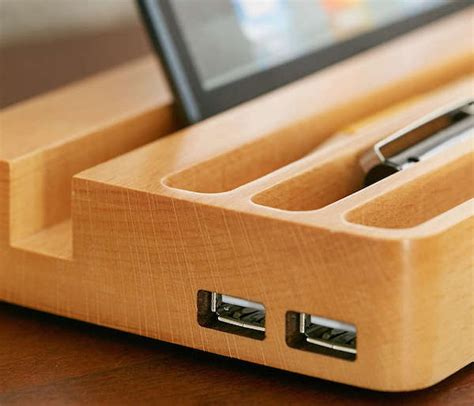 Charging-Station-Woodworking