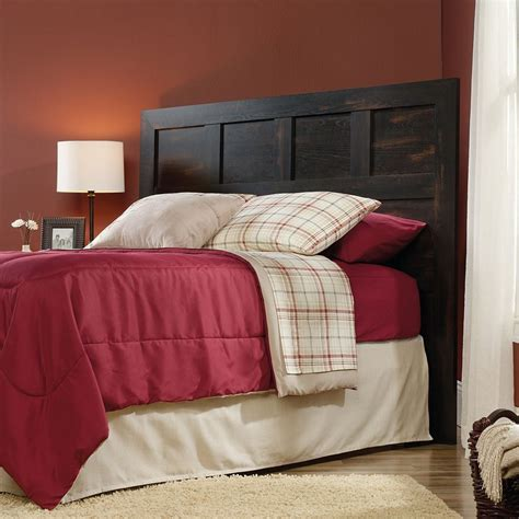 Charring Wood Diy Headboard