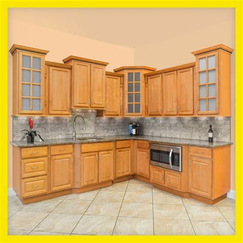 Cheap All Wood Kitchen Cabinets