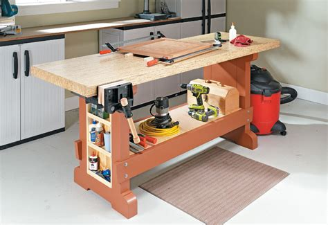 Cheap And Sturdy Workbench Plans