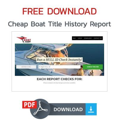 [click]cheap Boat History Report.