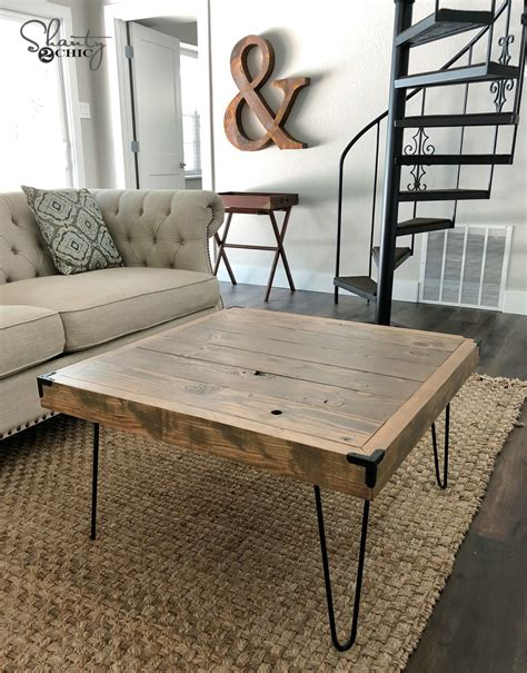Cheap Diy Coffee Table Legs