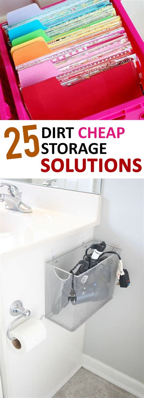 Cheap Diy Storage Solutions