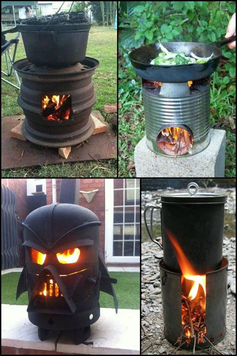 Cheap Diy Wood Burning Stove No Welding