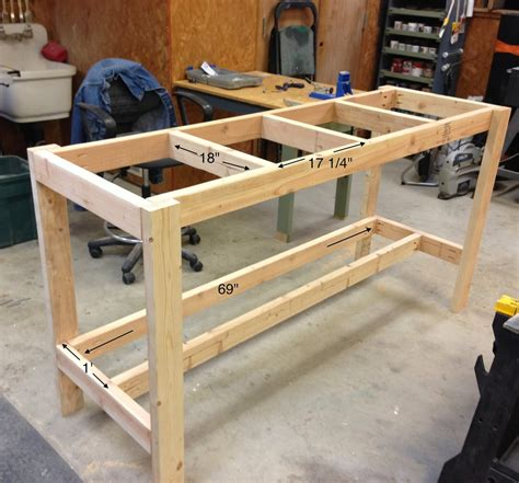Cheap Diy Workbench Design