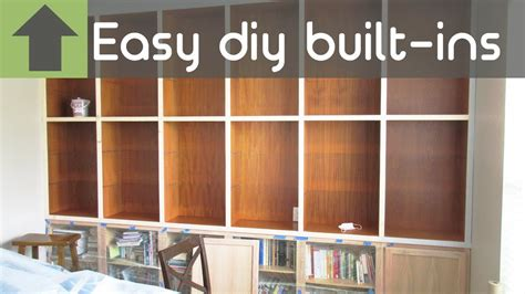 Cheap Easy Diy Built Ins