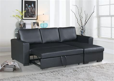 Cheap Leather Pull Out Sofa