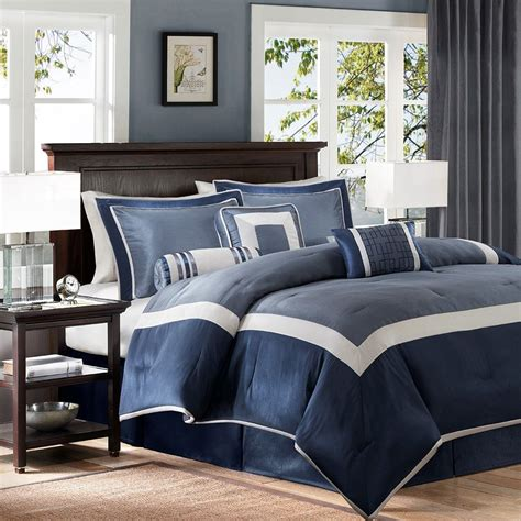 Cheap Navy King Comforter Sets