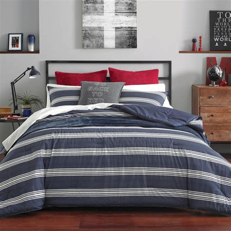 Cheap Prices Navy Blue Twin Comforter Set
