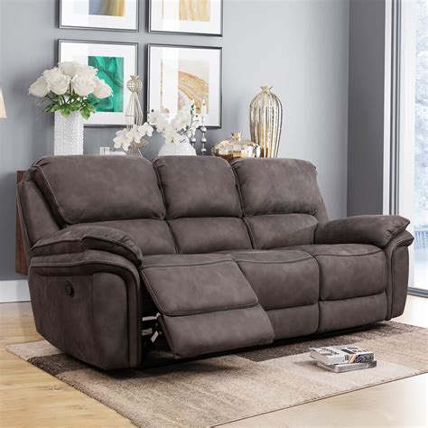 Cheap Recliner Couch 3 Seater