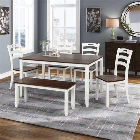 Cheap White Dining Table And 6 Chairs