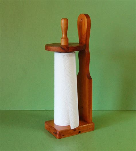 Cheap Wood Paper Towel Holder