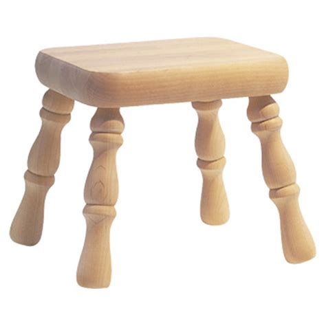 Cheap Wooden Footstools Unfinished