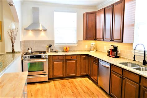 Cheap kitchen cabinets and countertops Image
