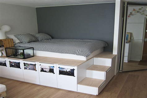 Cheap-Diy-Platform-Bed-With-Storage