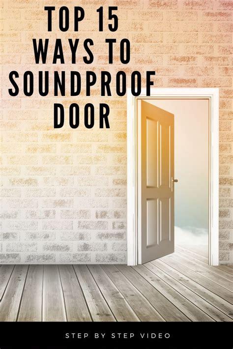 Cheap-Diy-Soundproofing-Door