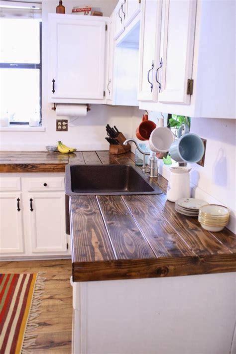 Cheap-Diy-Wood-Kitchen-Countertops