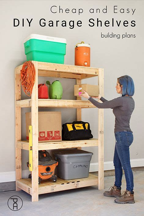 Cheap-Easy-Diy-Garage-Shelves
