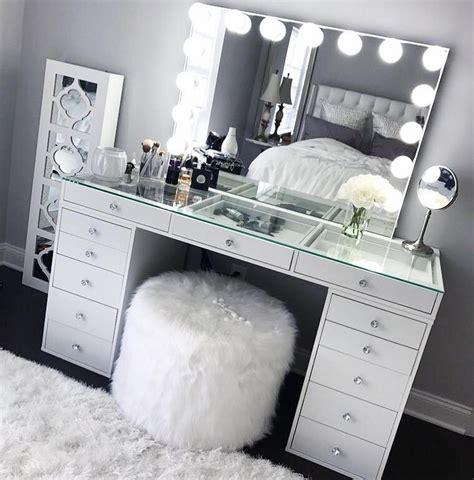 Cheap-White-Vanity-Desk
