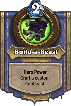 Cheapest Deck And Hero Hearthstone Build A Beast