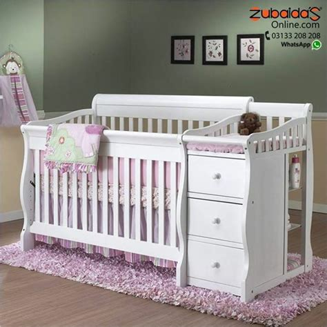 Cheapest Price For Crib With Attached Changing Table