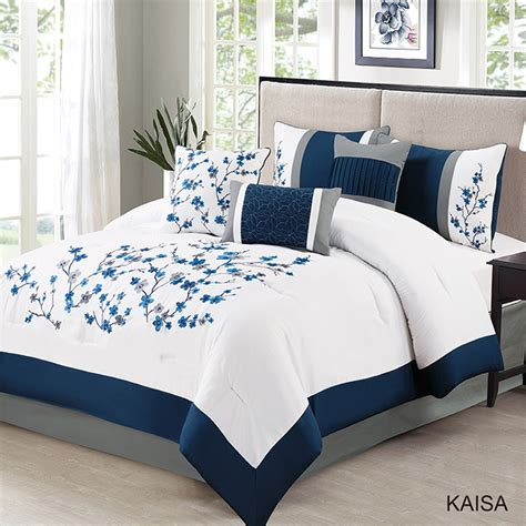 Cheapest Price Navy And White Comforter