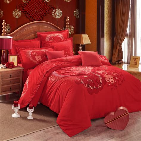 Cheapest Price Red Full Size Comforter Set