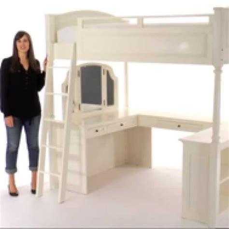 Chelsea Vanity Loft Bed Diy Designs