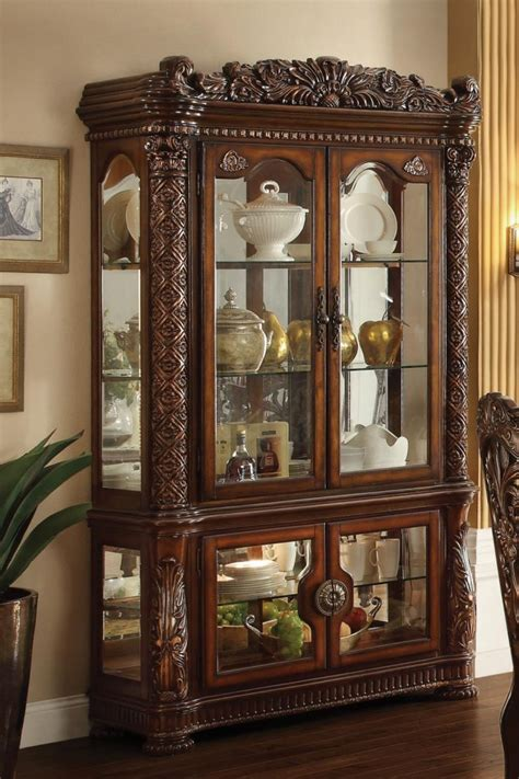 Cherry Curio Cabinets Cheap