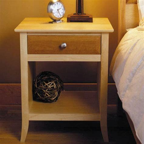 Cherry Nightstand Plans To Build